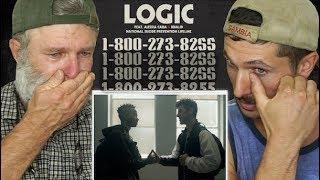 Download Gay Guys React- Logic - 1-800-273-8255 ft. Alessia Cara, Khalid Video