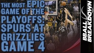 Download The Most EPIC Game Of The 2017 NBA Playoffs Yet: Spurs A Grizzlies Game 4 Video