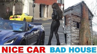 Download Girls React to a Guy with Nice Car and Crappy House Video