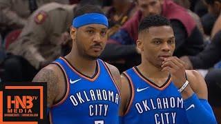 Download Cleveland Cavaliers vs Oklahoma City Thunder 1st Half Highlights / Jan 20 / 2017-18 NBA Season Video
