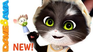 Download 😺 Finger Family Song for Toddlers | Nursery Rhymes and Children's Songs from Dave and Ava 😺 Video
