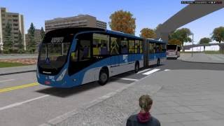 Download [OMSI 2] BRT TransMunicipal Expresso - Mapa Savoy 9 By Marcos e Fabrício + G27 #OMSI2 #OMSI Video