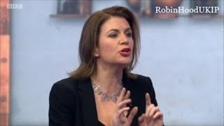 Download Julia Hartley Brewer will not let BBC presenter spread fake news Video