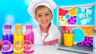 Download Vlad and Nikita Pretend Play Toy Cafe with Friends Video