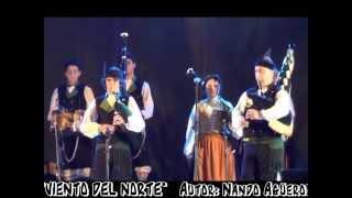 Download BANDA DE GAITAS ″TEIXO - MANOLO QUIRÓS″: ″VIENTO DEL NORTE″ Video