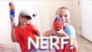 Download NERF BLASTERS AMBUSH PRANK!! Video