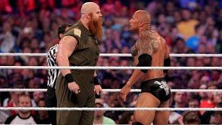 Download The Rock vs. Erick Rowan: WrestleMania 32 Video