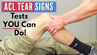 Download Top 3 Signs You Have an ACL tear (Tests You Can Do At Home) Video