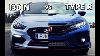 Download Hyundai i30 N vs Honda Civic Type R (2018) Video