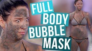Download FULL Body of the BUBBLE Face Mask?! (Beauty Break) Video