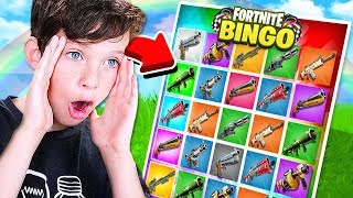 Download *NEW* 1v1 FORTNITE RAINBOW BINGO CHALLENGE with my LITTLE BROTHER! Video