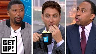 Download Stephen A. and Jalen debate about Le'Veon Bell as Greeny gets his popcorn ready | Get Up! | ESPN Video