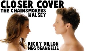 Download CLOSER - THE CHAINSMOKERS ft. HALSEY (Music Video Cover by Ricky Dillon & Meg DeAngelis) Video