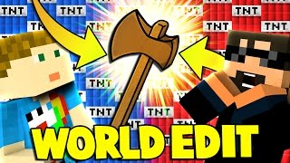 Download Minecraft: MODDED TNT WARS - NEW TNT AND WORLD EDIT?! [2] Video