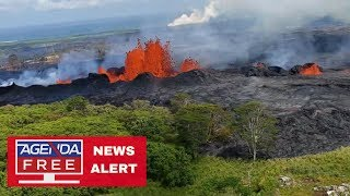 Download Hawaii Lava Approaches Power Plant - LIVE BREAKING NEWS COVERAGE Video