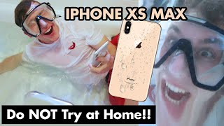 Download NEW iPhone XS Max UNDERWATER Camera Test (Please don't break...) Video