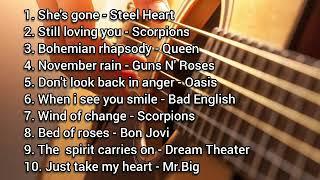 Download Lagu NOSTALGIA Best slow rock barat 90an terbaik terpopuler (Best COVER) Video