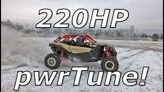 Download Maverick X3 2018 fuel pump / stage 4 tune! 220HP! Video
