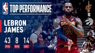 Download LeBron James' EPIC Game 2 Performance In Toronto Video