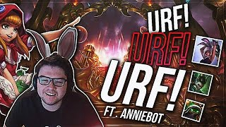 Download URF URF URF | MY HAND HURTS!!! ft. Annie bot, Afflictive • Dyrus Video