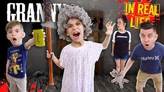 Download Granny Horror Game In Real Life! PEPPER SPRAY Update (FUNhouse Family) Video