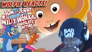 Download Wolfie Reacts: Tom and Jerry: Willy Wonka and the Chocolate Factory Trailer - Werewoof Reactions Video