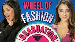 Download Niki And Gabi's Graduation Outfit Challenge! Wheel Of Fashion Video