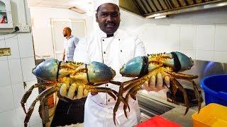 Download Food in Sri Lanka - 1.5 KG MONSTER Crab Curry (Family Recipe) in Colombo, Sri Lanka! Video