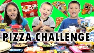 Download PIZZA CHALLENGE w/ Tabasco Hot Sauce Jelly Beans | FUNnel Vision Family Fun Video