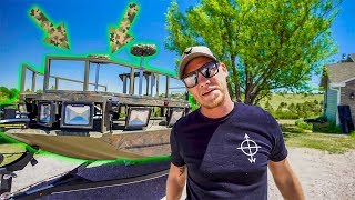 Download My New CAMOFLAUGE Boat!! (TOUR) Video