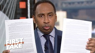 Download Stephen A. defends his Colin Kaepernick criticisms | First Take Video