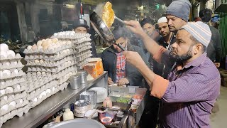 Download India's Fastest Omelet Making | Bread Cheese Omelette | Indian Street Food Video