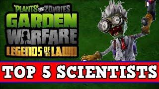Download Plants vs Zombies Garden Warfare - ″Top 5 Characters″ - SCIENTISTS Video