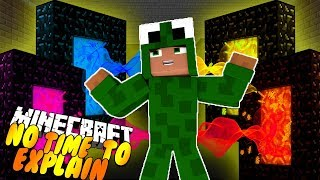 Download NO TIME TO EXPLAIN!! THE GIANT PENGUIN KING! Minecraft w/ Little Kelly Video