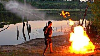 Download ✅ОГНЕДЫШАЩАЯ КОЛА ! Огненная ракета из Кока-Колы заправленной газом Video