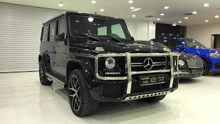 Download 2017 Mercedes Benz G Class G63 AMG: Startup/ Exhaust/ Interior/ Exterior/ In-depth Review/ Dubai Video