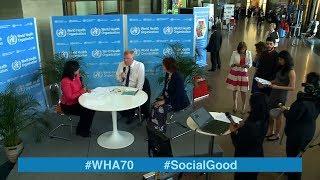 Download WHO: World Health +Social Good live at WHA70 - 23 MAY 2017 Video