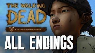 Download The Walking Dead Season 2 Episode 5 ALL ENDINGS - ALONE, JANE, KENNY, WELLINGTON Video