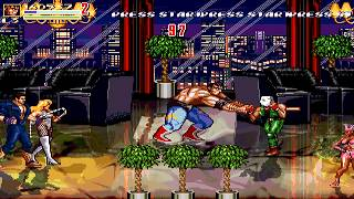 Download OpenBoR games: Streets of Rage Z playthrough Video
