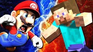 Download SMG4: Mario VS Steve Video