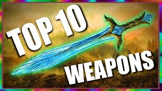 Download Top 10 Fun Weapons in Skyrim Special Edition Video