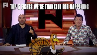 Download Happy Thanksgiving - Top 5 Fights We're Thankful For Happening Video