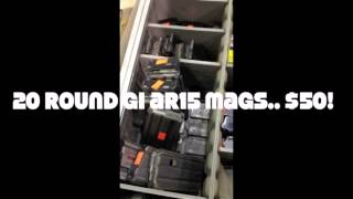 Download Gun Show Gouging (And where to buy Mags for cheap!) Video