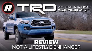 Download 2019 Toyota Tacoma TRD Sport is not a great lifestyle enhancer Video