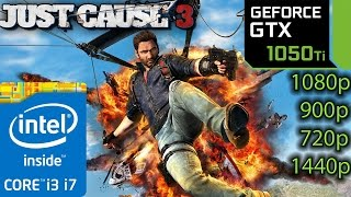 Download Just Cause 3: GTX 1050 ti - i3 6100 and i7 4790 - 1080p - 900p - 720p - 1440p Video