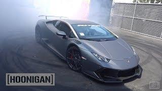 Download [HOONIGAN] DT 050: Lamborghini Huracan Donuts with Samuel Hubinette Video
