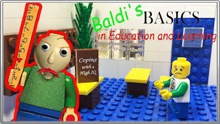 Download LEGO Мультфильм Baldi / Baldi's Basics in Education and Learning / LEGO Stop Motion Video