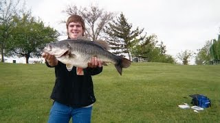 Download The Story Of Matt's 12+ lber Pond Fishing From Shore! Video