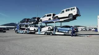 Download Lagermax Autotransport | Lkw Fahrzeugbeladung Video