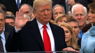 Download Donald J. Trump Sworn in as 45th US President Video